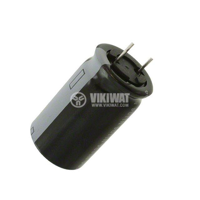 Кондензатор електролитен 125 V, 220 µF, Ф18x26 mm