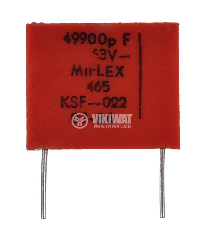 Capacitor polyester  - 1