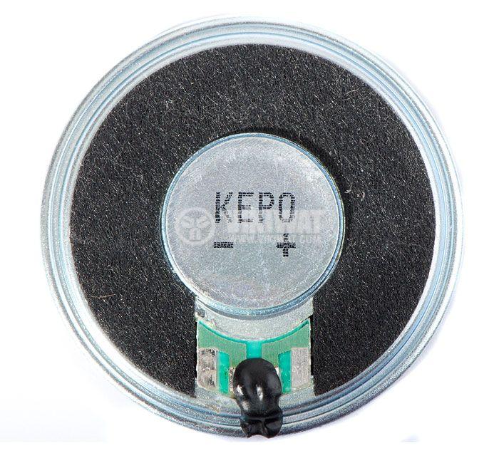 Миниатюрен говорител, KP4050SP2F450, 8Ohm, 0.5W, 90dB - 2