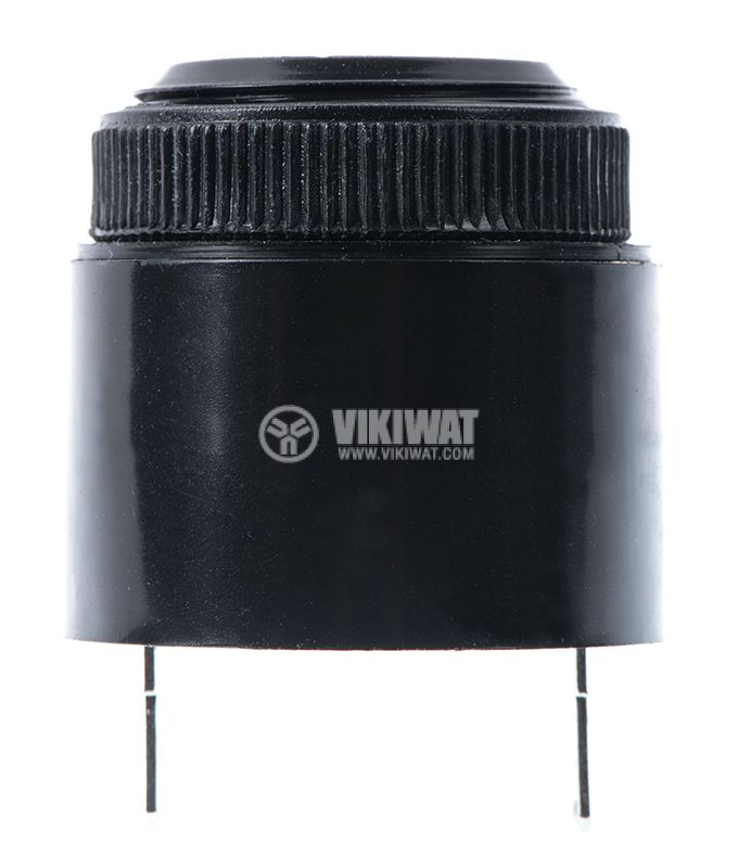 Piezo buzzer, KPI-G3739, 12VDC, 90dB, 2.9kHz, Ф36x46.5mm, with generator - 1