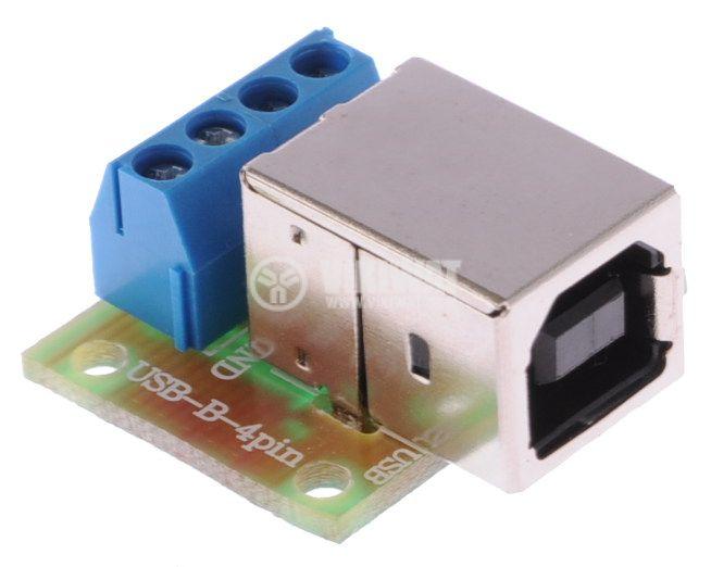 Converter USB-B - 4pin - 1