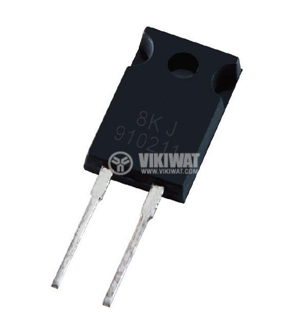 Резистор thick film, 0.1 Ohm, 50W, +/- 5%, THT, TO220, от -65 до +150°C, изолиран корпус - 1