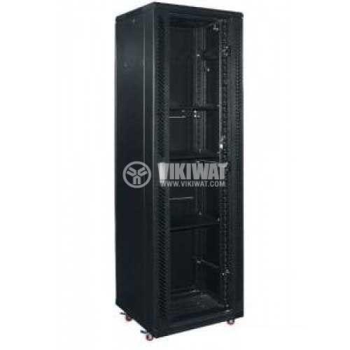Комуникационен шкаф-Rack, 19in, 15U, 600x1000mm, стоящ