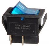 Клавишен превключвател, MK 521 B/N, 15A/250VAC, DPST
