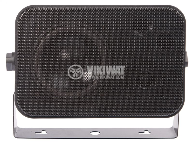 Wall speaker SW-344B, 5 / 10W, 70-100V, black, PVC - 1