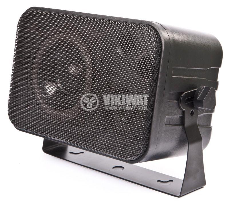 Wall speaker SW-344B, 5 / 10W, 70-100V, black, PVC - 2