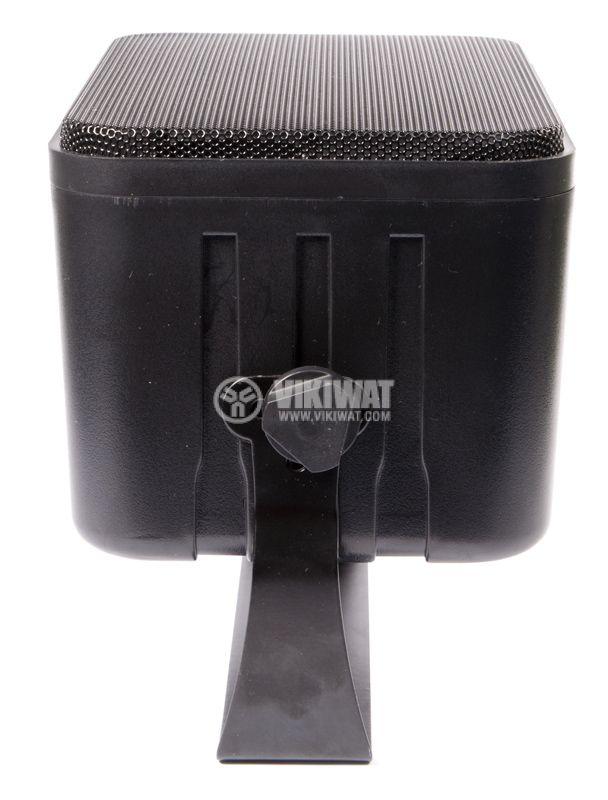 Wall speaker SW-344B, 5 / 10W, 70-100V, black, PVC - 4