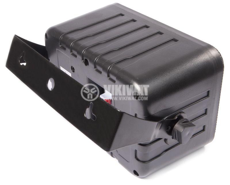 Wall speaker SW-344B, 5 / 10W, 70-100V, black, PVC - 5