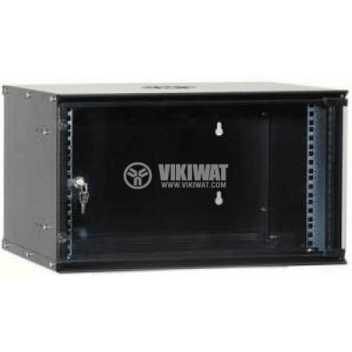 Rack, 19in, 6U, 540x450mm, for wall mounting