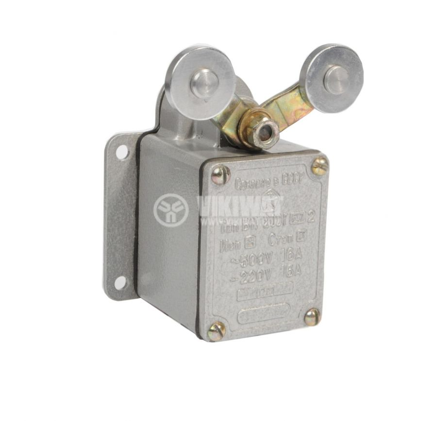 Limit Switch VK 200G-BU2-2-3, DPST-NO+NC, 16A/500VAC, two rollers lever - 1