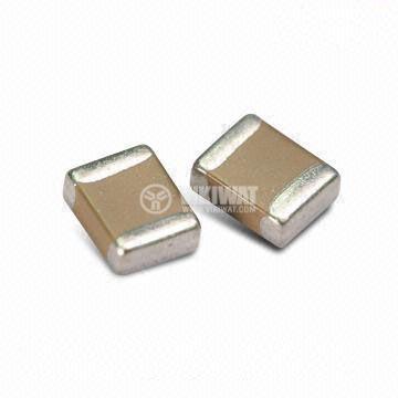 Capacitor SMD C0603, 120pF, 50V, C0G - 1