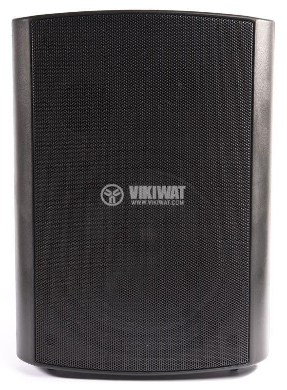 Wall mount speaker SW-506B, black, 30W - 4