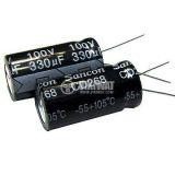 Кондензатор електролитен 2200uF, 6.3V, THT, Ф10x17mm