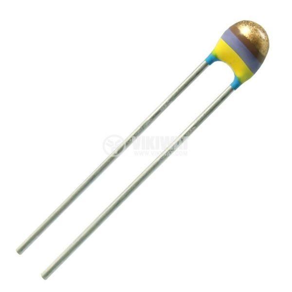 Терморезистор, NTC, 220 kOhm, 2.54 mm - 1