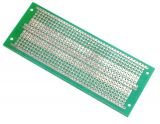 Universal PCB, single sided, EX17, 45x116mm, 2.54mm
