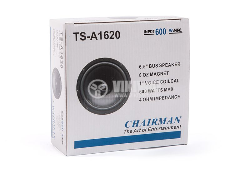 Car speaker, 6.5'', 600W, 4ohm, Chairman, TS-A1620 - 4