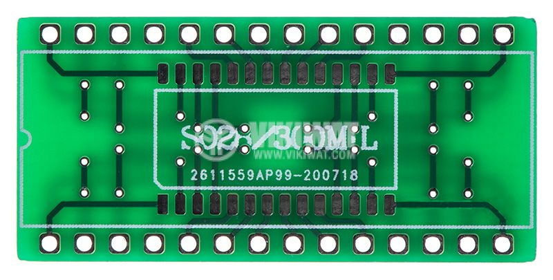 Circuit board SO28, SOIC28, TSSOP28, SSOP28 to DIP28   - 2