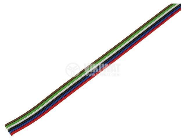 Лентов кабел ЛМПВГ 6x0.22mm2