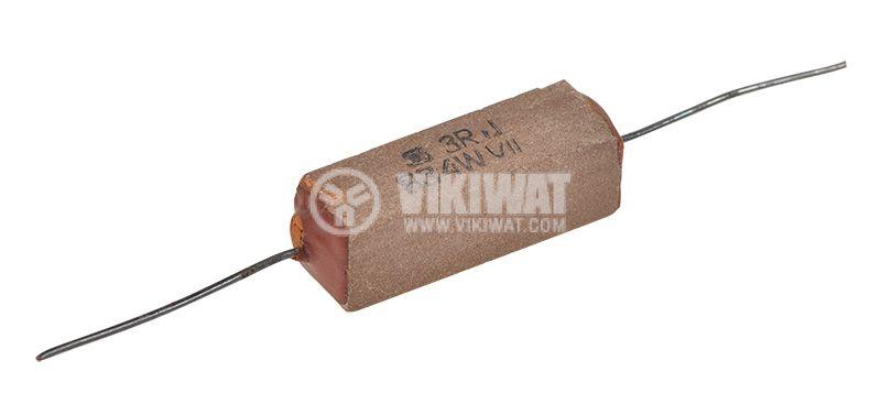 Резистор 1.3 Ohm, 4 W, 5%