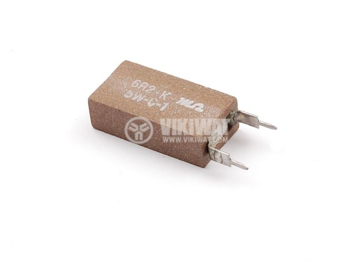 Резистор 6.2 Ohm, 5W, 5%