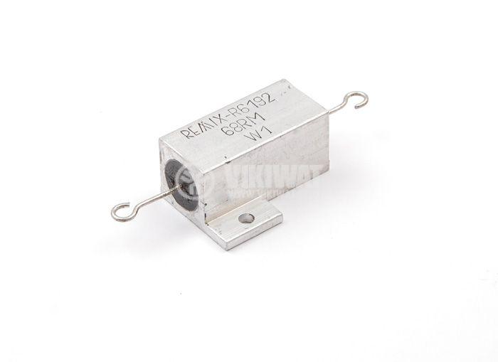 Резистор 68 Ohm, 8W, 5%, REMIX-R6192