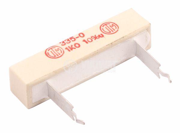 Резистор  керамичен 1 kOhm 12W 10%