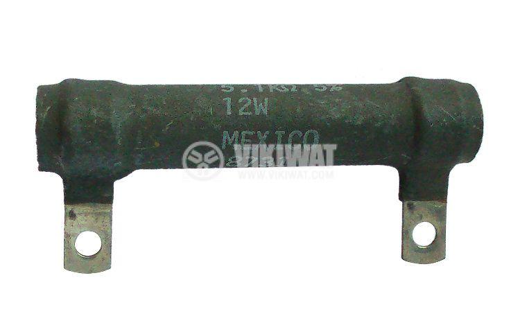 Резистор 5.1 kOhm, 12 W, 5 %