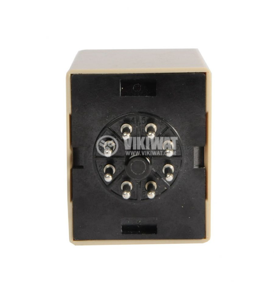 Analogue Time Relay, AH3-ND, 12VDC, SPDT or DPDT, 5A, 1min - 10h - 3