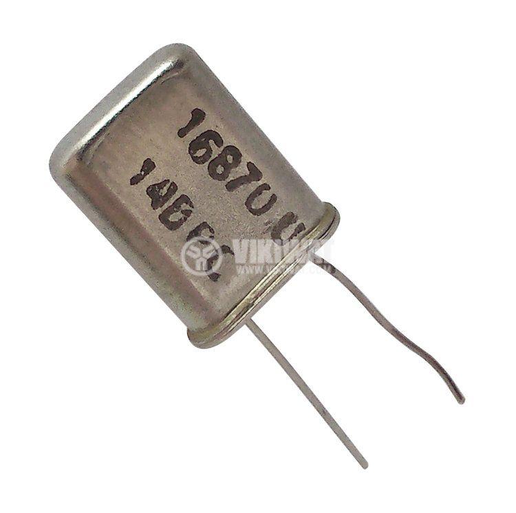 Кварцов резонатор 16.870 MHz