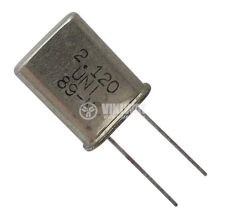 Кварцов резонатор 2.120 MHz