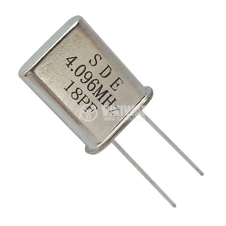 Кварцов резонатор 4.096 MHz