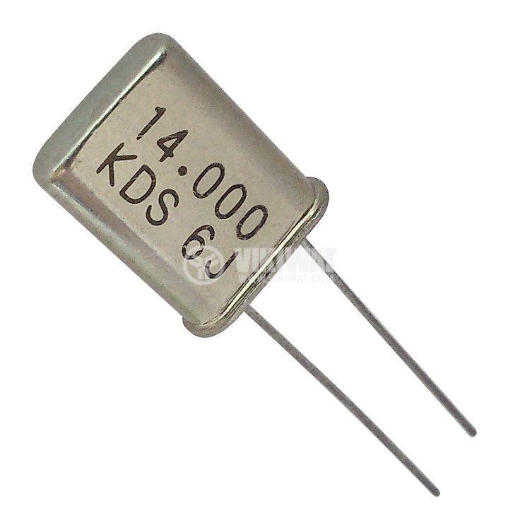 Кварцов резонатор 14.000 MHz