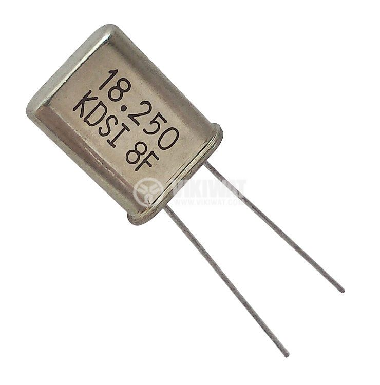 Кварцов резонатор 18.250 MHz