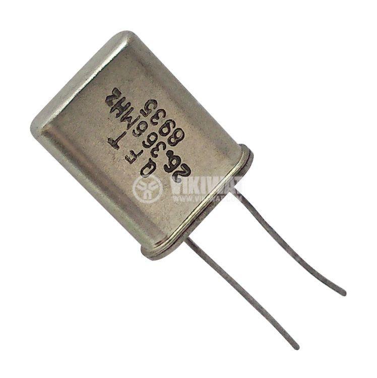 Кварцов резонатор 26.366 MHz
