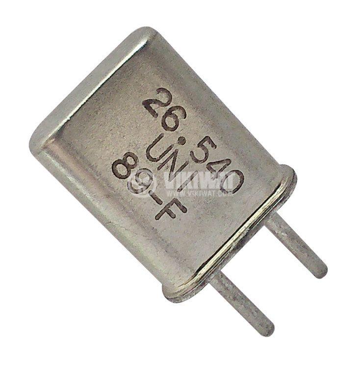Кварцов резонатор 26.540 MHz