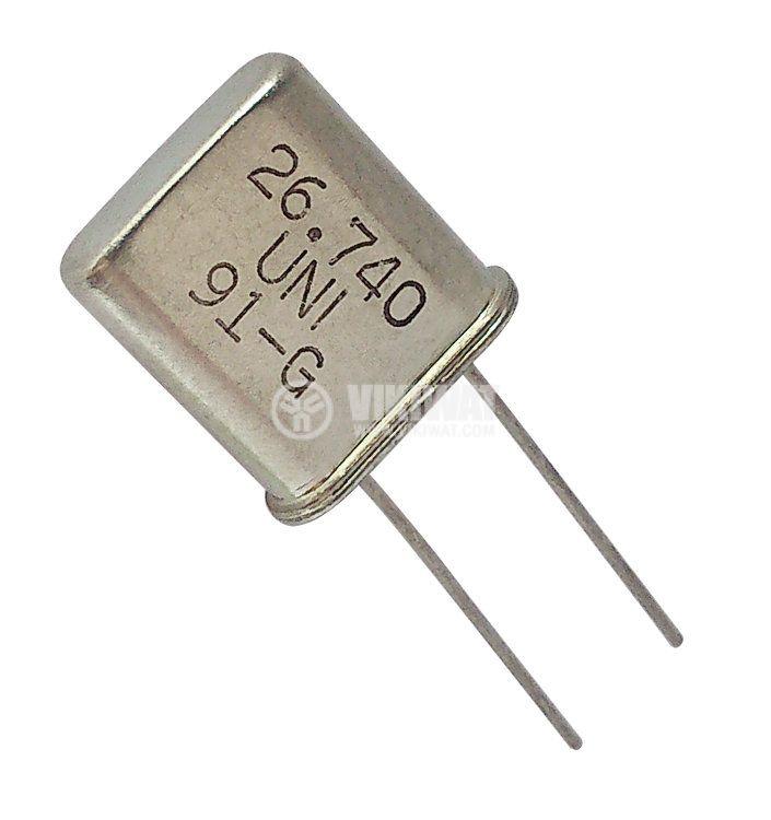 Кварцов резонатор 26.740 MHz