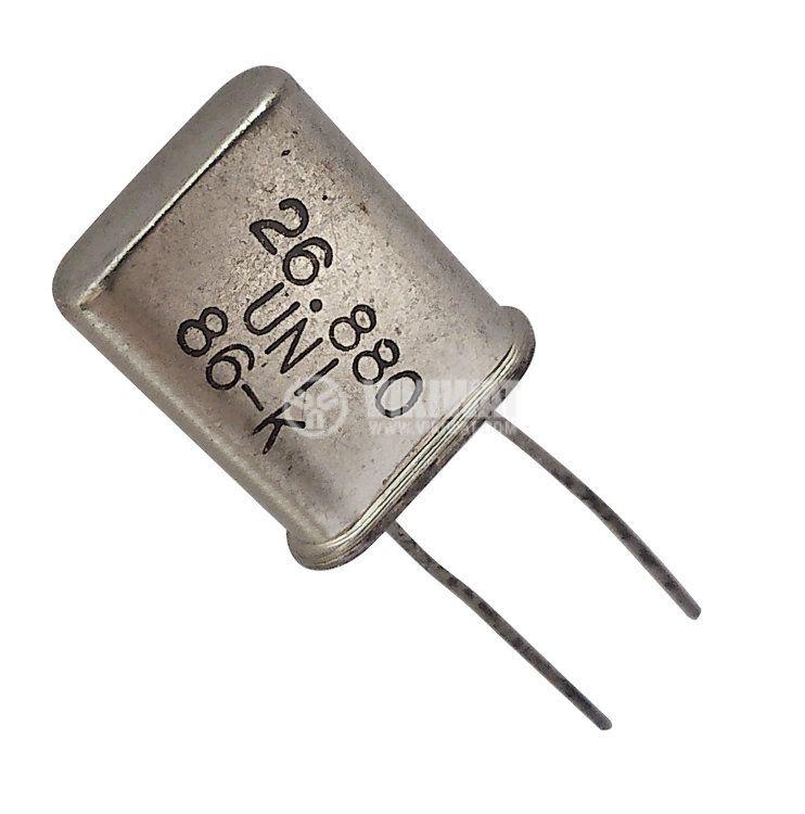 Кварцов резонатор 26.880 MHz