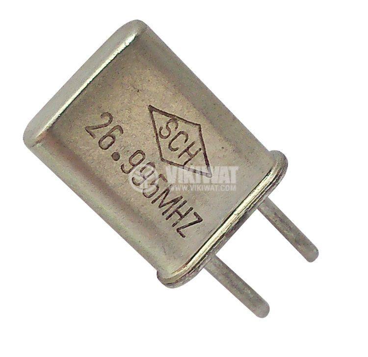 Кварцов резонатор 26.995 MHz