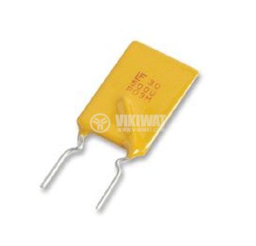 Предпазител полимерен възстановяем PTC 900 mA, 30 VDC  - 1
