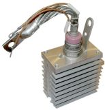 Thyristor T151-100-8, 800V, 100A with radiator