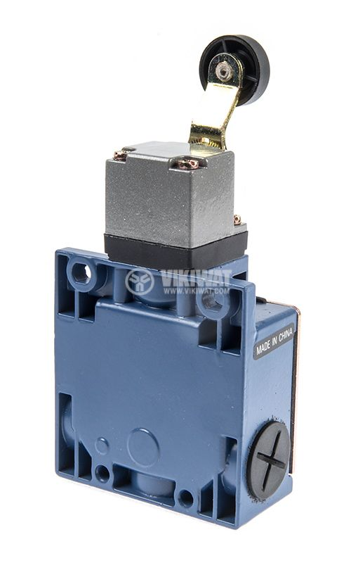 Краен изключвател, XCK-M115, DPST-NO+NC, 3A/240VAC, рамо с ролка - 3