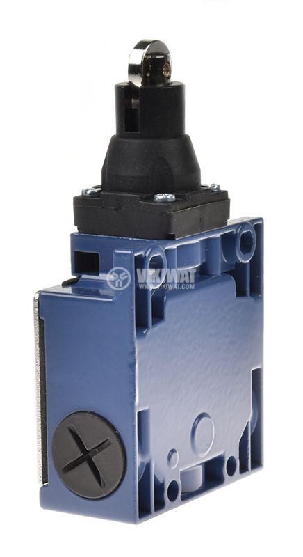 Краен изключвател, XCK-M102, DPST-NO+NC, 3A/240VAC, ролка - 3