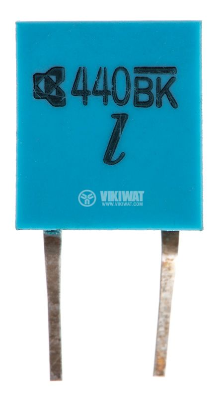 Кварцов резонатор 440.00KHz, THT, PVC   - 1