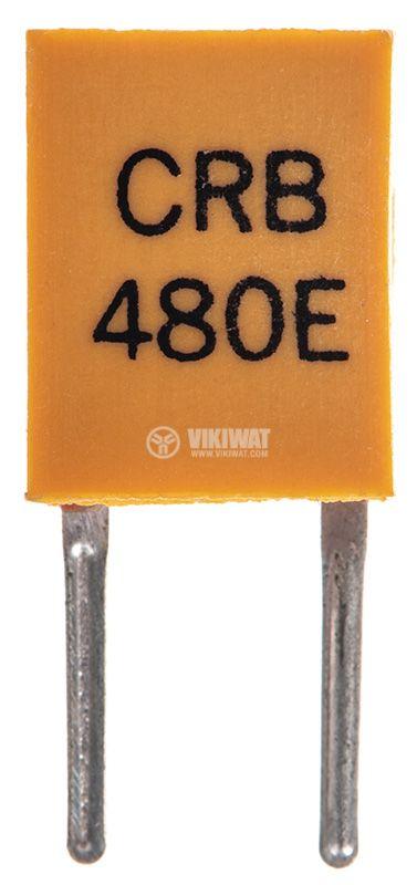 Кварцов резонатор 480KHz, THT, PVC   - 1