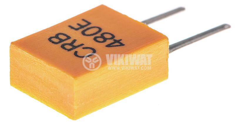 Кварцов резонатор 480KHz, THT, PVC   - 2