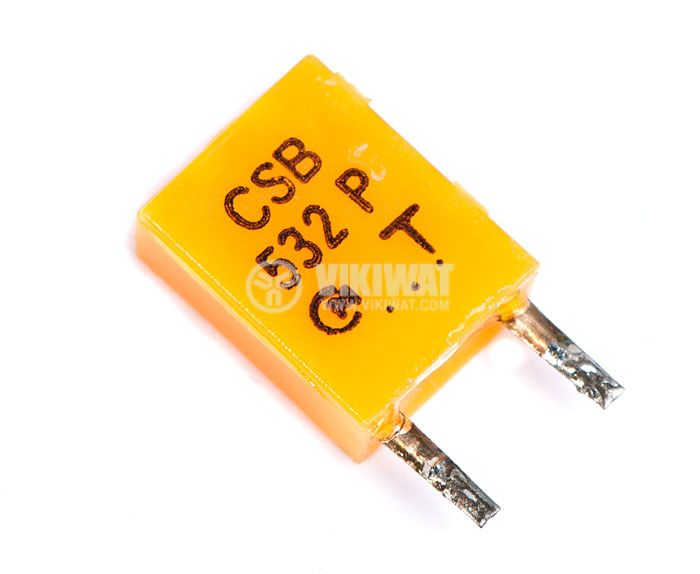 Кварцов резонатор 532 PVC
