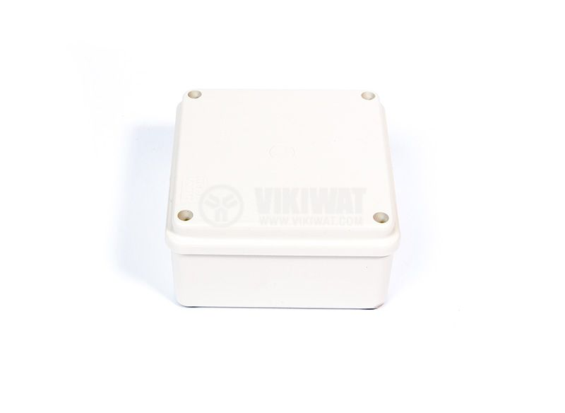 Tight junction box, OLAN OL 20021, 100x100x50 level of protection IP5 - 1