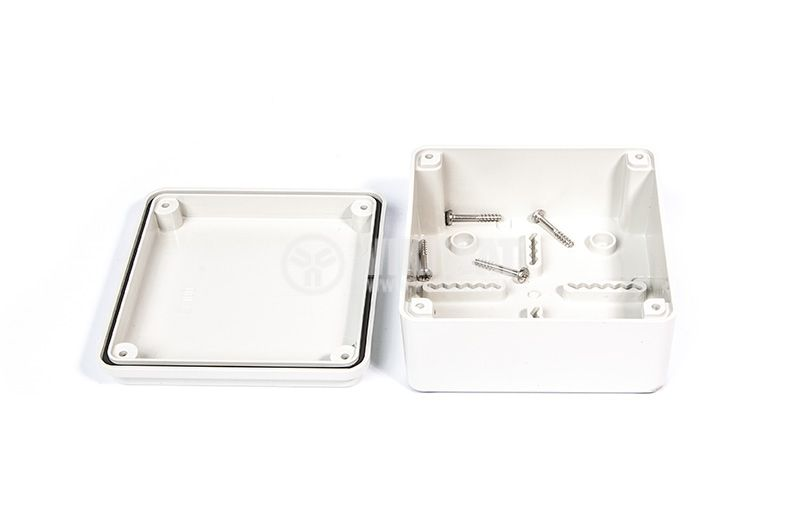 Tight junction box, OLAN OL 20021, 100x100x50 level of protection IP5 - 2