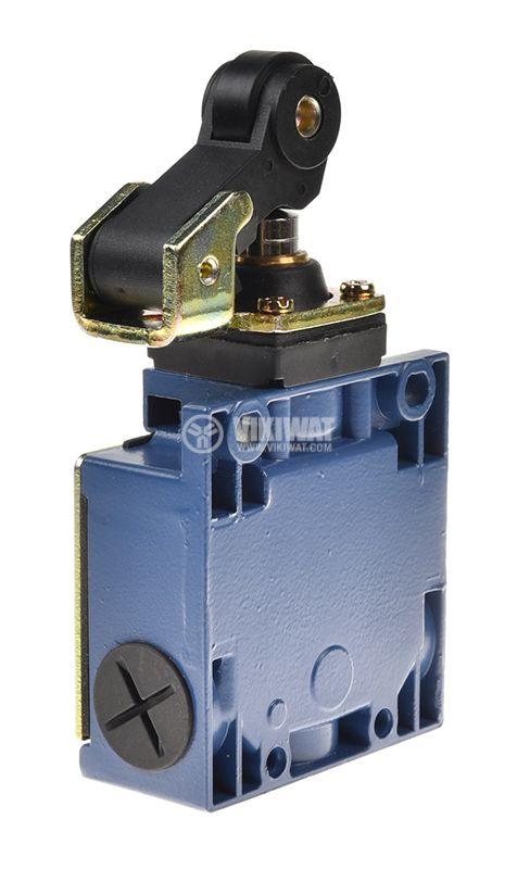 Краен изключвател XCK-M121, DPST-NO+NC, 3A/240VAC, рамо с ролка - 3