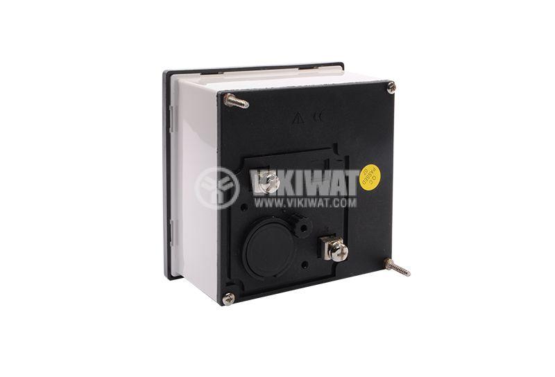 Волтметър 500VАC, SX96,  96X96mm, директно свързване - 2